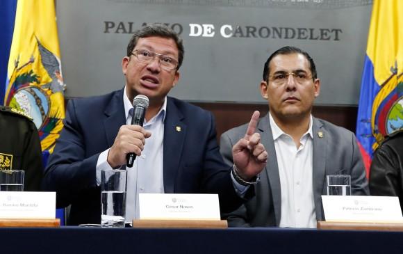 Periodistas de Ecuador son rehenes de disidentes colombianos de las Farc