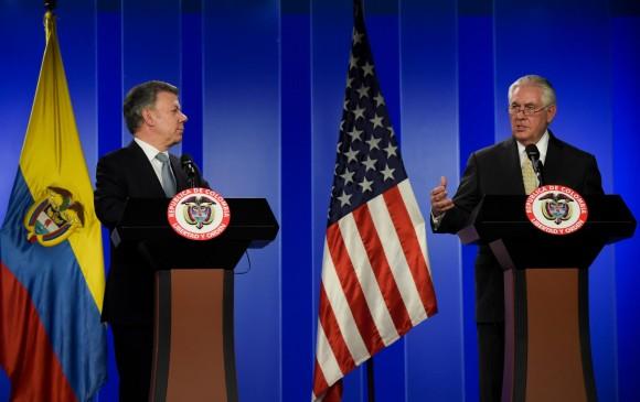 PPK se reúne con secretario de Estado de EE. UU