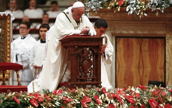 El Pontífice de 79 años, nacido en Argentina, se refirió a varios temas que han sido centrales durante su papado. FOTO Reuters