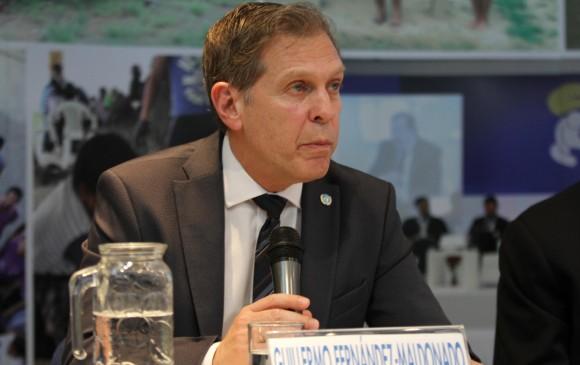 El representante adjunto de la alta comisionada para los Derechos Humanos de la ONU en Colombia Guillermo Fernández Maldonado