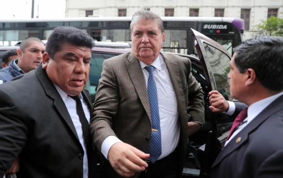 Alan García, expresidente de Perú, solicitó asilo a Uruguay