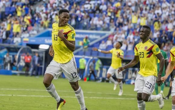 Yerry Mina triplicó su valor luego del gran Mundial realizado. FOTO JUAN ANTONIO SÁNCHEZ