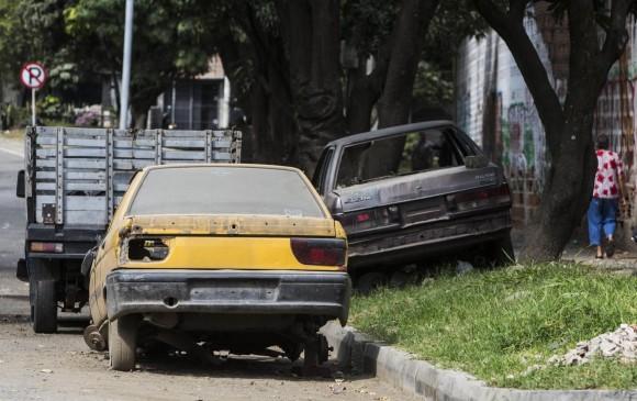 Medellín, ¿cementerio de carros?
