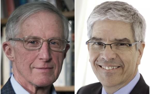 El premio fue para los economistas estadounidenses William Nordhaus y Paul Romer. Medioambiente y tecnología, las bases de los galardonados. FOTO REUTERS