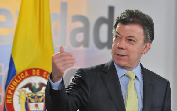 Santos recibirá Premio Chatham House por firma de acuerdo con FARC