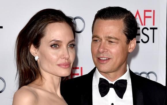 Angelina no tiene autocontrol — Brad Pitt