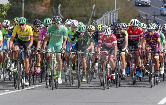 Nicolás Paredes, tras la segunda etapa, lidera la Vuelta a Colombia 2017