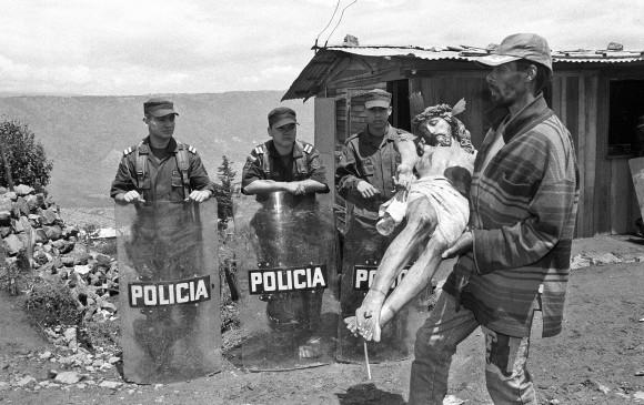 """Esta es una de las fotos de su series """"Mata que Dios perdona"""". FOTO: Cortesía del autor."""