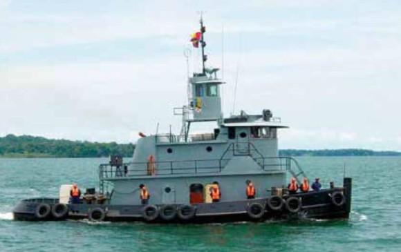 Sanos y salvos están tripulantes de buque tras emergencia en el Pacífico