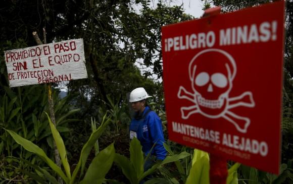 FOTOS: Medellín, Cocorná, El Peñol y San Luis, libres de minas antipersonales