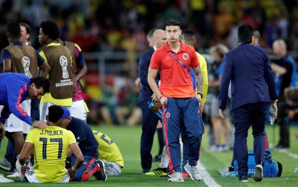 James Rodríguez viajó de Rusia a España y luego a Alemania para la revisión de los médicos del Bayern de Múnich. FOTO REUTERS