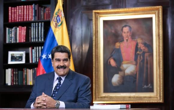 El presidente venezolano se posesiona el próximo jueves para un nuevo mandato de seis años de duración. FOTO AFP