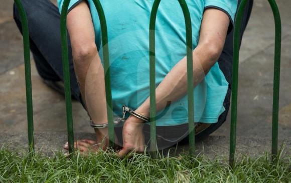 El agresor fue capturado luego de una denuncia ciudadana. FOTO ARCHIVO JAIME PÉREZ