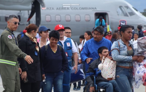 Regresaron al país 25 colombianos afectados por huracán Irma