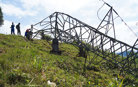 Guaviare, sin energía eléctrica por ataque de disidencias de las Farc