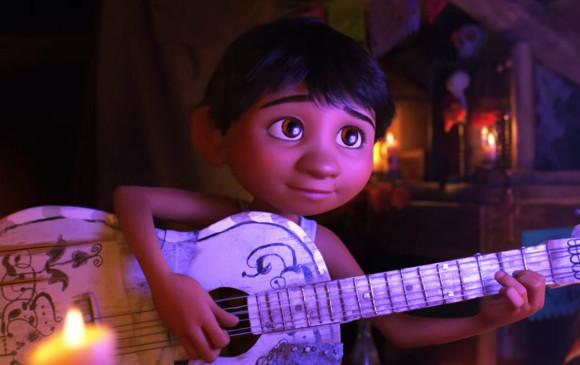 Este es Miguel y su guitarra. FOTO Cortesía Pixar