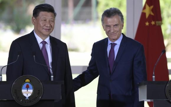 China es el segundo socio comercial de Argentina detrás de Brasil. Foto AFP