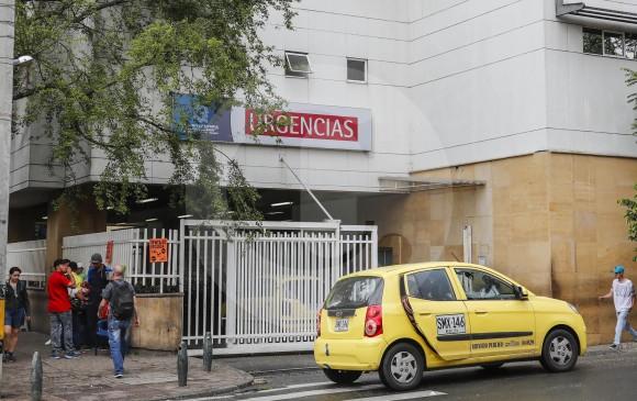 Las urgencias de la Clínica León XIII. FOTO JAIME PÉREZ
