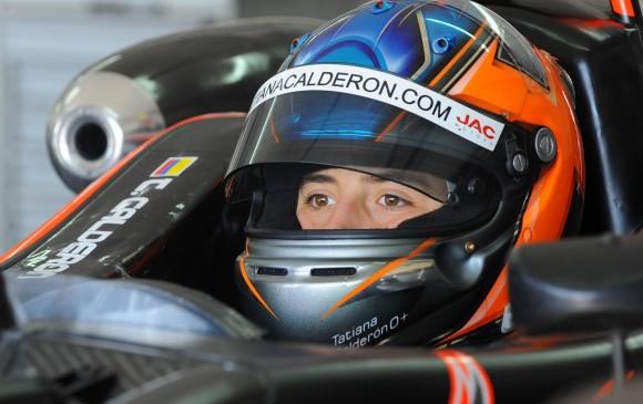TAtiana Calderón será piloto de pruebas en la F1