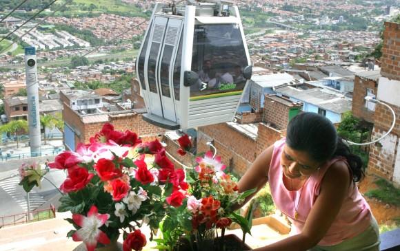Los metrocables también tendrán más horario de servicio en la Feria. FOTO ARCHIVO