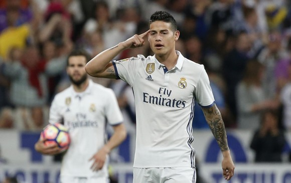 James, dilema de Zidane en la final