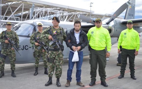 Capturan a alias 'Mateo', cabecilla del frente de guerra central del ELN