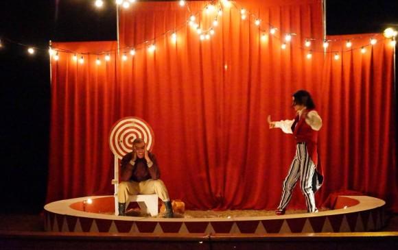 Anamnésico Teatro es el grupo ganador de la muestra de teatro independiente. FOTO Cortesía Festival Envigado hacia el teatro