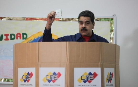 Maduro proclama triunfo electoral en 305 de 335 alcaldías venezolanas