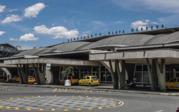 Ayer se cancelaron 13 vuelos y se desviaron 18 por las condiciones climáticas. FOTO: Róbinson Sáenz Vargas.