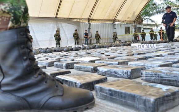 El 92% de la cocaína incautada en EEUU es colombiana
