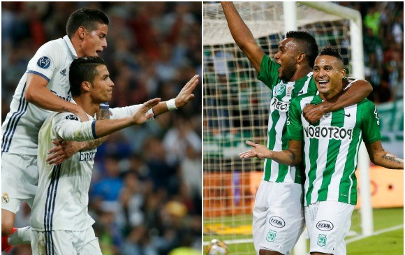 El real madrid y su pasado ante equipos colombianos for Proximo partido del real madrid