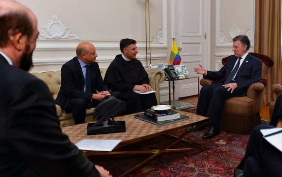 Comunidad Franciscana dará reconocimiento a presidente colombiano