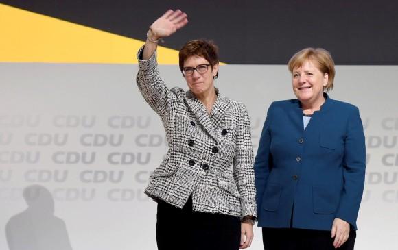 Annegret Kramp-Karrenbauer, la sucesora de Merkel al frente de la CDU