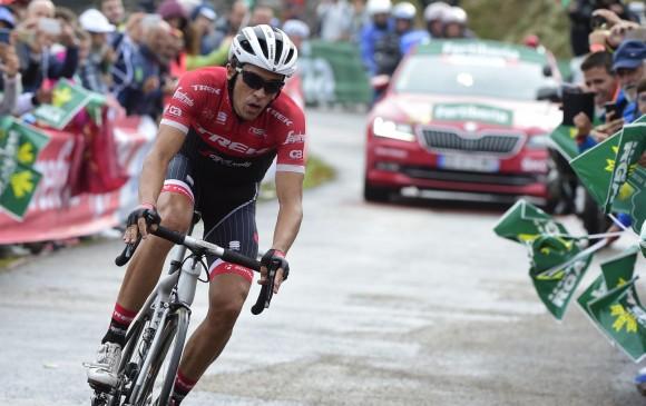 Chris Froome voló en la crono de la Vuelta España