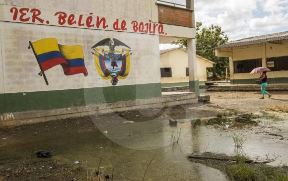 Persisten los problemas limítrofes entre los departamentos de Chocó y Antioquia por el corregimiento de Belén de Bajirá Foto: Julio César Herrera Echeverri