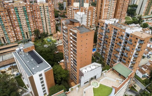 La Loma de los Bernal, en Medellín, es uno de los sectores con más auge en la construcción.Foto: Esteban Vanegas