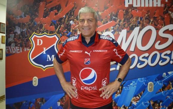 Octavio Zambrano, técnico de Canadá es el nuevo entrenador del DIM. FOTO @DIMOFICIAL