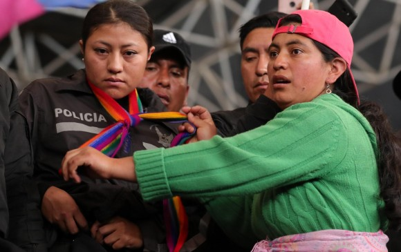 ONU inició contacto directo con indígenas para frenar violencia en Ecuador