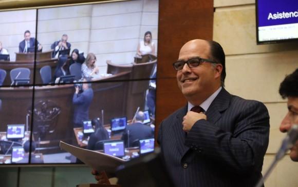 Colombia otorga condición de refugiado a líder venezolano Julio Borges