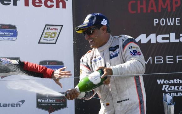 Juan Pablo Montoya, campeón de la IMSA WeatherTech