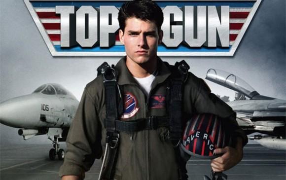 Top Gun fue estrenada en 1986. Un joven Tom Cruise, tenía 24 años. Foto: película