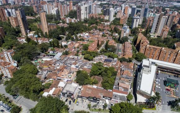 Los apartamentos en sectores exclusivos de El Poblado, Envigado y Sabaneta les ofrecen a los delincuentes la posibilidad de hacerse pasar por hombres de negocios. FOTO esteban vanegas