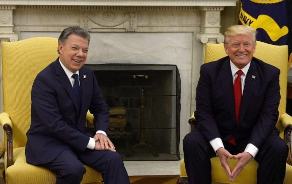 Santos y Trump se volverán a reunir para tratar temas bilaterales