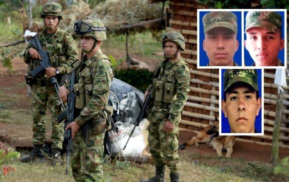 ELN habría secuestrado a tres militares en Arauca