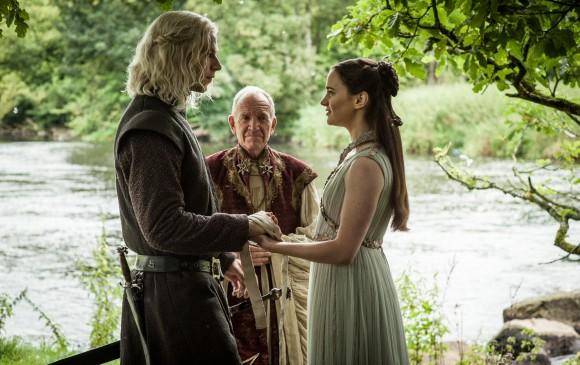 El matrimoino de Rhaergar Targaryen y Lianna Stark, uno de los secretos mejores guardados de toda la temporada. FOTO Cortesía HBO