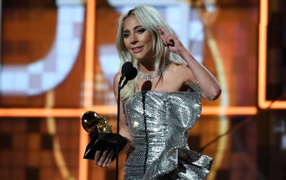 Lady Gaga se llevó tres premios en la noche de los Grammy. FOTO AFP