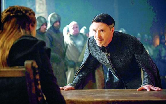 """Petyr """"littlefinger"""" Baelish en una de las escenas del último capítulo de temporada. FOTO Cortesía HBO"""