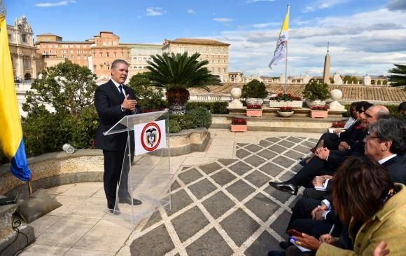 Desde Europa le reclaman a Duque aplicación del acuerdo de paz