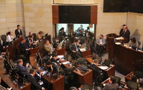 En el Senado se suspendió el lunes el debate sobre la reglamentación de este mecanismo considerado crucial para la paz con Farc. FOTO COLPRENSA