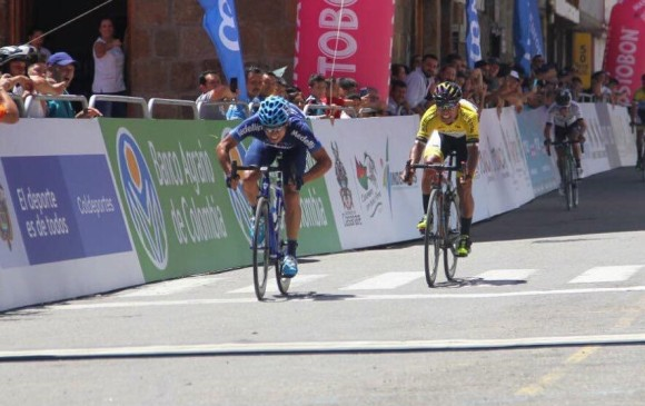 Team Medellín ganó la tercera etapa consecutiva en la Vuelta a Colombia